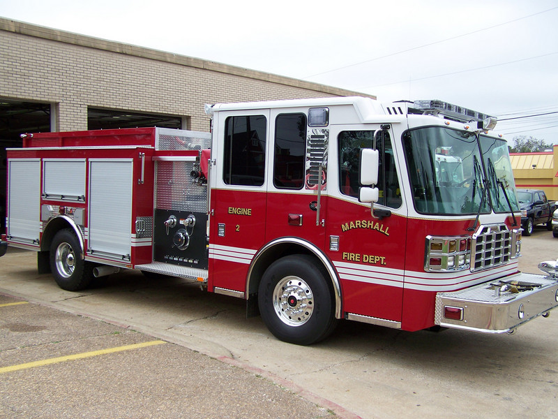Marshall Fire Departments New Engine 2
