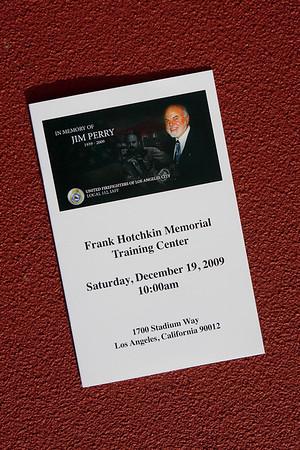 Jim Perry Memorial Service