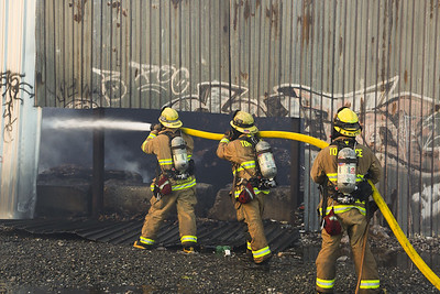 Denker IC - LAFD Major Emergency Recycling Yard Fire