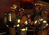 Major Emergency commercial structure fire in carpet company.  Companies arrived on scene reporting heavy smoke and fire from the one story 50x100 structure at Century Carpets.  The incident came in at 2300 hrs. on June 1, 2009