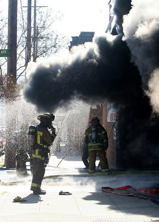 Tire Fire I/C - Burbank, California
