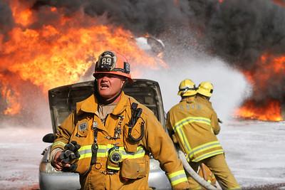 """Tujunga IC"" LAFD Major Emergency Auto Recycling Yard Fire"
