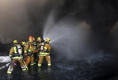 Universal Studios Backlot Fire
