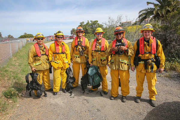 LACoFD Catalina Brush Drill