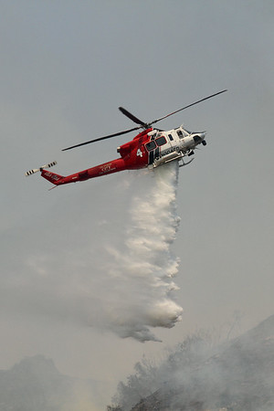 Brand IC Brush Fire - Glendale, CA - June 22, 2014