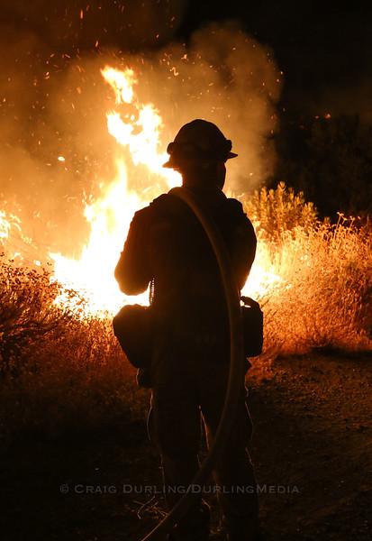 """Sand Fire"" Brush Fire - July 22, 2016"