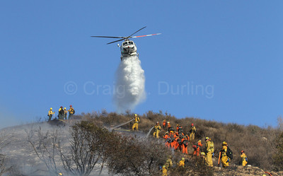 Sunland IC Brush Fire - Sept. 15, 2013
