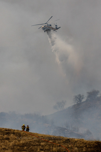 Wheatland IC Brush Fire