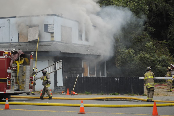 Fire at Blue Heron