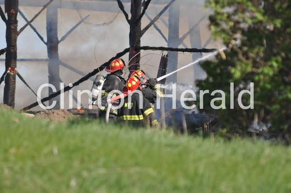 Fire in rural Morrison (4-27-15)