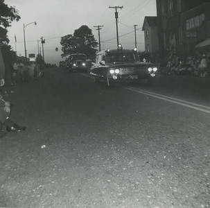 RVFD squad and trucks  Falls Church, VA May 31,1961