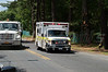 On Thursday June 26, 2014 at approx. 13:50 hrs., the Middle Island F.D. and officers from SCPD's 7th Pct. responded to this MVA between a Honda Accord Station Wagon and a Jeep Wrangler on Yaphank/Middle Island Road, north of Longwood Rd., near the entrance of Prosser Pines County Park. A pregnant woman was among a few of the injured who were being evaluated at the scene. It is unknown who, if any, were transported to the hospital from the scene.