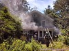 07-07-2013 1110 am Manorville House Fire on Wading River Manor Rd (8a)