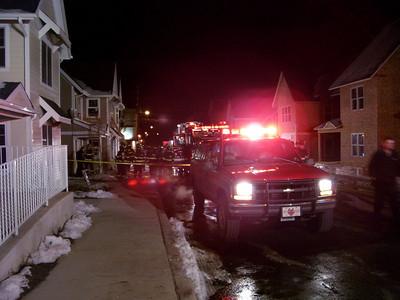Luzerne County - Hazleton City - Structure Fire x 2 - March 2006