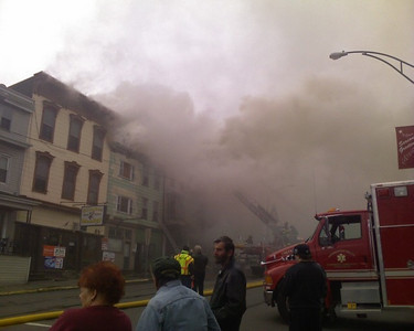 Schuylkill County - Ashland Borough - Structure Fire - Courtney Downey - 12/2/2009