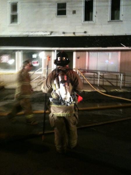 Schuylkill County - Frackville Borough - Apartment Building Fire Rekindle 11/28/09