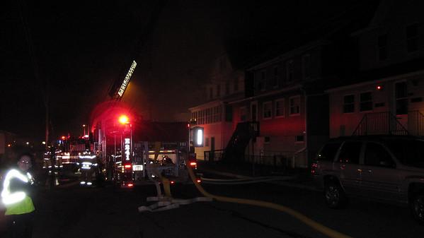 Luzerne County - West Hazleton Borough - Three Alarm Dwelling Fire - 11/21/2009