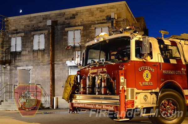 Citizens (Mahanoy City) & Goodwill (Frackville) Joint Training - 9/20/2012