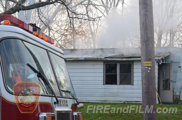 Columbia County - Beaver Twp. - Dwelling Fire - 10/24/2012