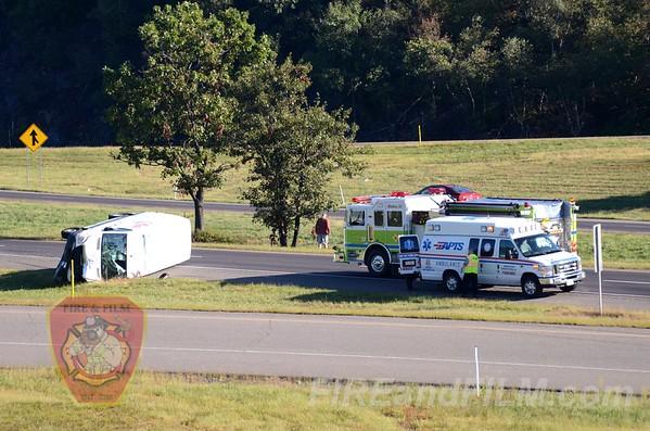 Luzerne County - Hazle Twp. - MVA w/ rollover - 9/9/2012