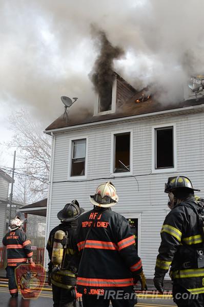 Luzerne County - Hazleton City - Apartment Building Fire - 12/2/2012