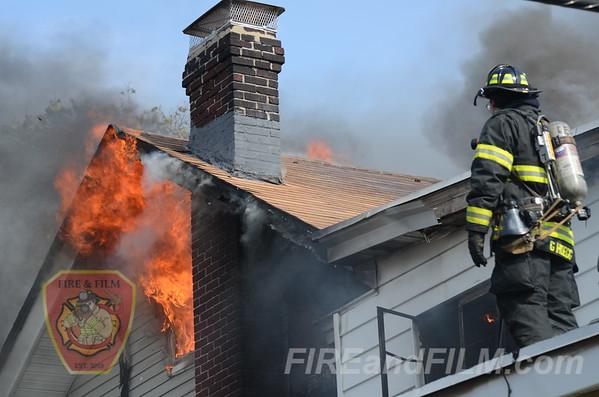 Luzerne County - Hazleton City - Dwelling Fire - 10/14/2012