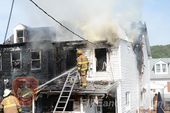 Schuylkill County - Ashland Borough - 2nd Alarm Dwelling - 9/14/2012
