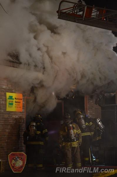 Schuylkill County - Girardville Borough - Commercial Fire - 11/28/2012