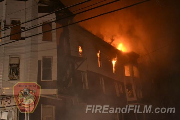 Schuylkill County - Mahanoy City - Multiple Alarm Structure Fire - 7/30/2012