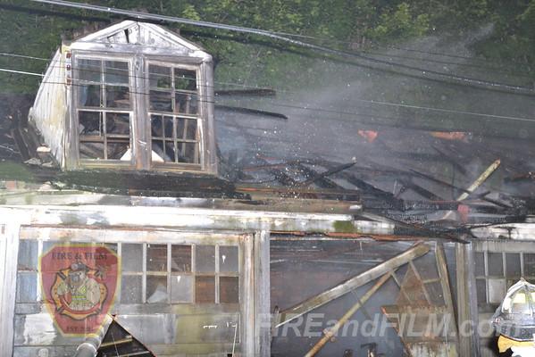 Schuylkill County - Mahanoy City Borough - Garage Fire - 7/2/2012