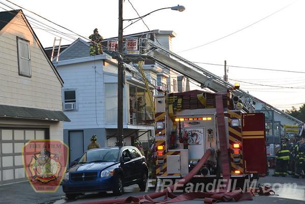 Schuylkill County - Mahanoy City Borough - Dwelling Fire - 6/20/2012