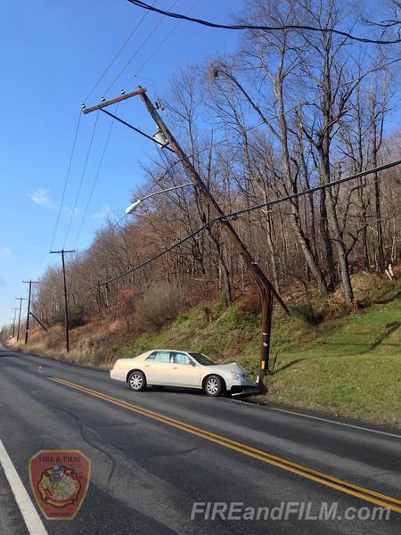 Schuylkill County - Mahanoy Twp. - MVA - 11/13/2012