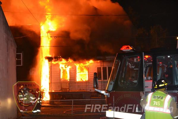 Schuylkill County - Shenandoah Borough - Multiple alarm dwelling fire - 7/7/2012