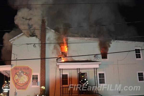 Schuylkill County - Shenandoah Borough - Dwelling Fire - 7/6/2012