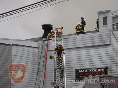 Schuylkill County - Shenandoah Borough - 5 Alarm Commercial