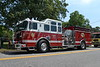 Fire occurred on 07/18/2013. Eastport FD was notified at 12:51 p.m. P.I.O. is Bud Mazura Eastport FD Second Assistant Chief Mark Yakaboski (5-8-32) was in command. Fire was in a former duck house made from corrugated aluminum, (approx 30' X 80' dimension) which was converted into a woodworking shop, located at 18 River Ave. Eastport, Long Island, NY Numerous surrounding fire departments responded to the scene to assist Eastport FD. At least one firefighter was injured when his arm was cut open on the steel bldg. Numerous firefighters were overcome by heat exhaustion due to weather conditions. Suffolk arson squad is investigating.