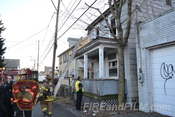 Luzerne County - Hazleton City - Dwelling Fire - 04/01/2013