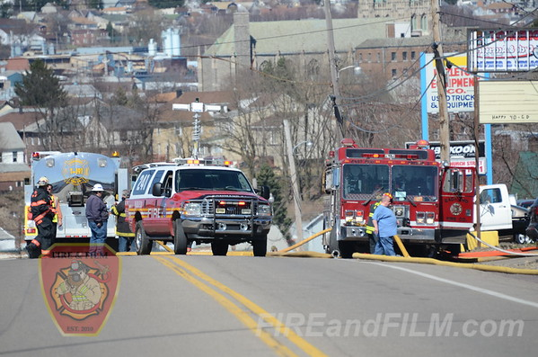 Luzerne County - Hazleton City - Commercial Fire - 04/17/2013