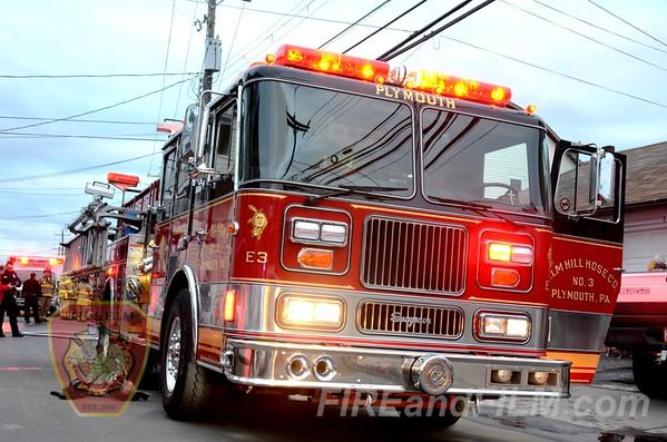Luzerne County - Plymouth Borough - Dwelling Fire - 03/28/2013