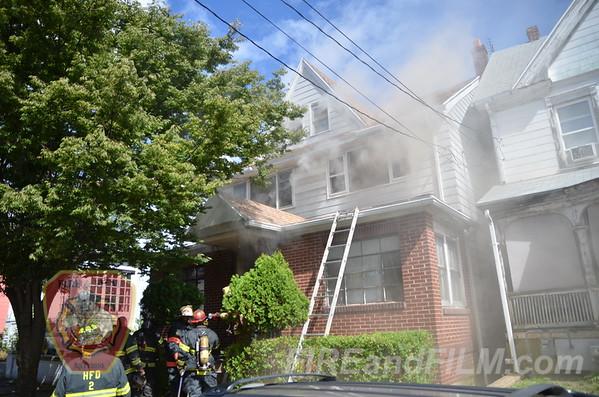 Luzerne County - Hazleton City - Dwelling Fire - 09/22/2013