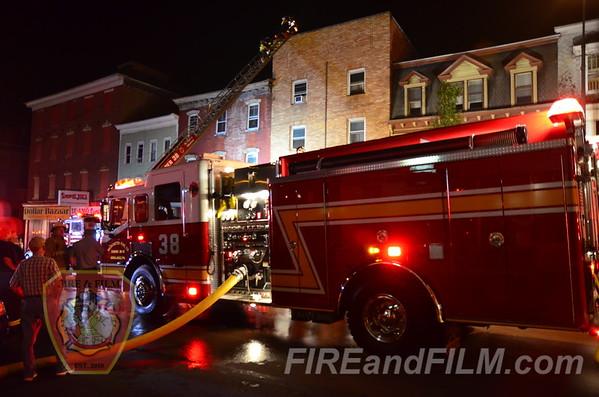 Schuylkill County - Ashland Borough - Building Fire - 9/2/2013