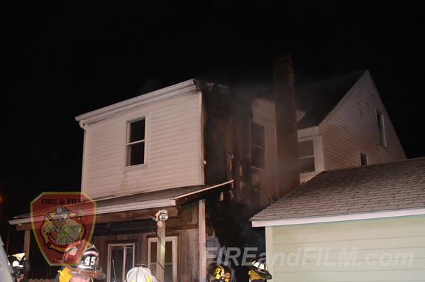 Schuylkill County - Girardville Borough - Dwelling Fire - 3/6/2013
