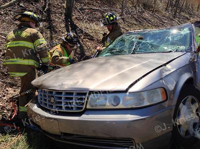 Schuylkill County - Interstate 81 - MVA w/ door pop - 05/02/2013
