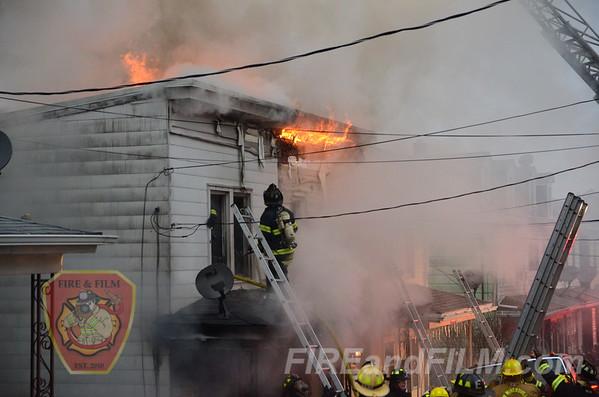 Schuylkill County - Minersville Borough - Dwelling Fire - 12/29/2013