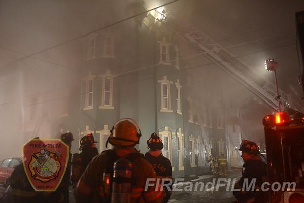 Schuylkill County - Shenandoah Borough - Multiple alarm fire - 02/23/2013