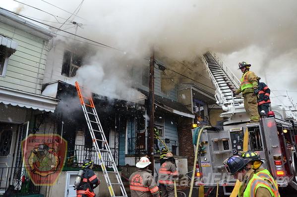 Schuylkill County - Shenandoah Borough - Multiple Alarm Dwelling Fire - 12/31/2013