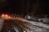 Accident occurred on Broadway just north of Narcissus Rd. just after midnight on 01/24/2014. Rocky Point FD and SCPD 7th Pct. responded. Driver had to be removed by the FD. The driver of this Chevy was severely injured and taken to Stony Brook hospital. SCPD is investigating.