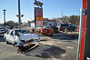 02/28/2014 15:00 hrs Bellport MVA Station Rd-Lambui : Two people were injured in this two car accident on Feb. 28, 2014 at approx. 15:00 hrs. at the intersection of Station Rd. and Montauk Hgwy. in Bellport. Bellport firefighters had to use their Hurst tool to extricate one of the victims from their car, including cutting the roof off. The injured were transported to local hospitals by South Country and Shirley Ambulance crews. Chief Jason Crane (05-01-30) of the Bellport F.D. was in charge of the scene.