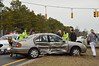 03/28/2014 13:30 hrs Medford Rt 101 (Sills Road) MVA-Lambui : Two car accident in Medford Friday March 28, 2014. At approx. 1:30 p.m. a two car accident at the intersection of Southaven Ave. and Sills Rd. sent one woman to the hospital with injuries. She was transported by Medford Volunteer Ambulance to Brookhaven Memorial Hosp.