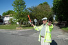 Glider crashes in tree in Patchogue Sunday, May 25, 2014. At approx. 16:00 hrs., a man operating a motorized glider crash landed into a group of trees located at 314 Conklin Ave. Patchogue, NY, on Long Islands south shore. The Patchogue F.D. and SCPD's 5th Pct. & ESU responded to the scene. The gliders operator was suspended in the thick stand of trees for about an hour and a half until rescuers were able to retrieve him after using chain-saws to cut through the thick branches. Multiple departments responded as well as the Brookhaven Technical Rescue Task Force.